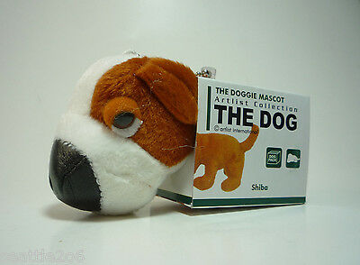 The Dog Artlist Collection Pack Doggie Mascot SHIBA INU Brown White FREE S&H NEW