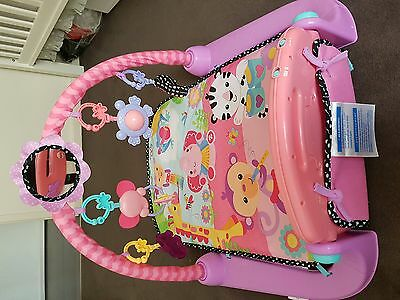 Fisher-Price Kick and Play Piano - PINK Used