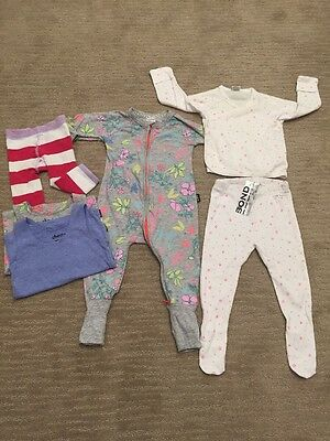 BONDS BABY GIRL WINTER BUNDLE SIZE 0-1 (6-12mths) And (12-18mnths)