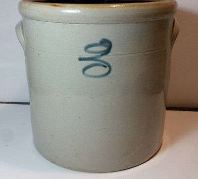 Vintage Red Wing Glazed Stoneware Bee Sting 2 Gal Gallon Crock