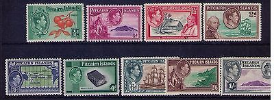 Pitcairn Islands Stamps  SC# 1//8 MNH/LH Cat.$54 Missing 6A
