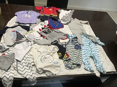 Bulk baby boys clothes Size 000 Pumpkin Patch Dymples And More