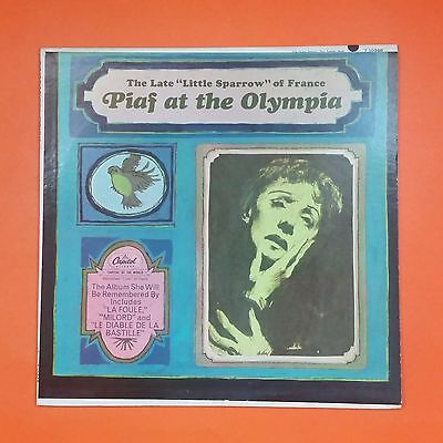 PIAF At The Olympia T 10368 LP Vinyl VG++ Cover VG++