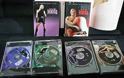 La Femme Nikita The Complete First And Second Season Dvd