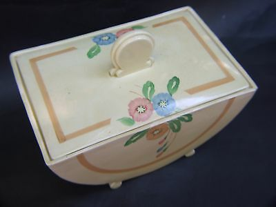 Antique Clarice Cliff  Newport Pottery Bonjour Tureen and Cover