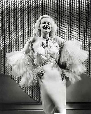 Beautiful Jean Harlow Platinum Blonde Bombshell 1930's 8X10 Photo 195