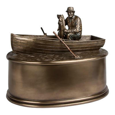 Perfect Memorials Fisherman Cremation Urn
