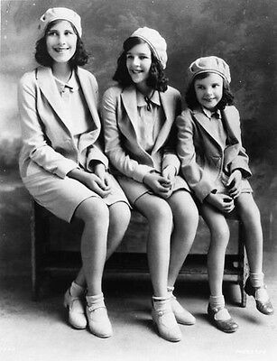 Beautiful Young Judy Garland With Sisters   8X10 Photo 22