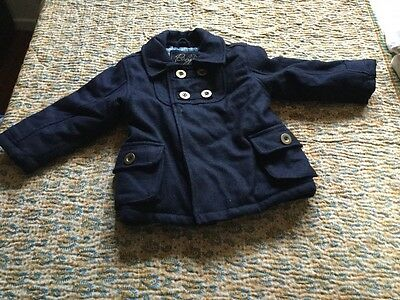 18-24 month baby k padded coat