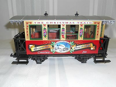 Lgb Trains  #33074   2000 Christmas Car   G Scale   New  In The Original Box