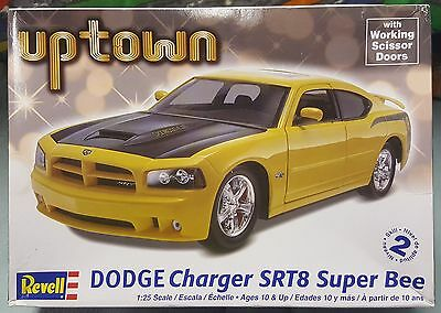 Revell Dodge Charger SRT8 Super Bee 1/25th scale kit