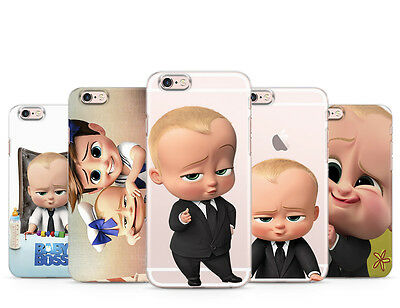 The Boss Baby Cartoon Tim Kids Cute Teen Transparent Phone Case Cover For Iphone