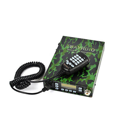 FM VHF/UHF Amateur Car Mobile Radio Transceivers With Dual Band PTT Mic&Scan