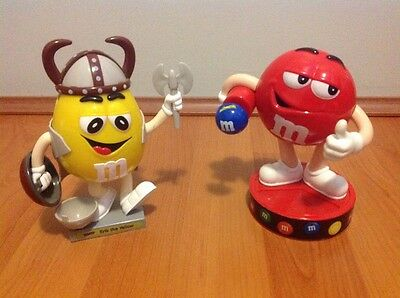 M&M DISPENSERS 2 Erik the Yellow and Red