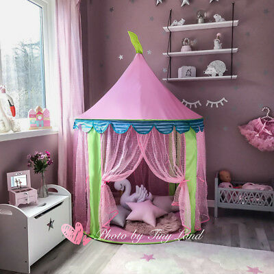 Princess Castle Girls Play Tent Childrens Kids Teepee Play House Indoor Gift Toy