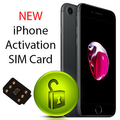 iPhone Activation Sim Card