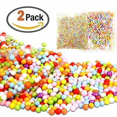 Colorful Foam Balls Styrofoam Balls Foam Deads 0.09-0.32 Inch Perfect for Party