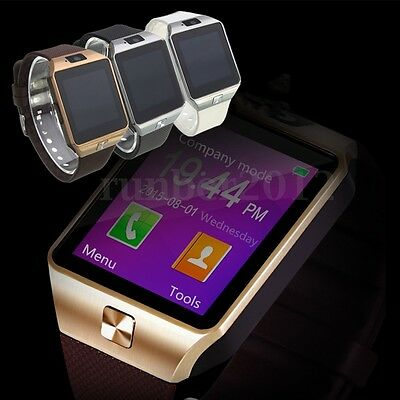DZ09 Reloj Smart Watch GSM SIM Bluetooth Cámara para Movil iOS iPhone Android