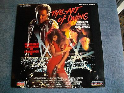THE    ART   OF   DYiNG       VERY . RARE  . LASERDiSC      GOOD .  CONDiTiON .