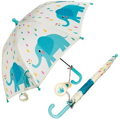 dotcomgiftshop CHILDRENS UMBRELLA ELVIS THE ELEPHANT. KIDS GIRLS BOYS BROLLY