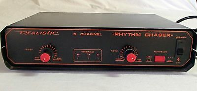 Realistic 3-channel Rhythm Chaser music control for disco lights etc. Works VGC