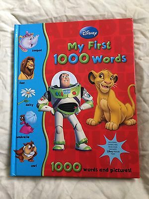 Disney My First 1000 Words Hb Book - 1000 Words & Pictures Dictionary