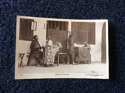 KUALA LUMPUR,REAL PHOTO POSTCARD, FORTUNE TELLERS, EARLY CARD.      s