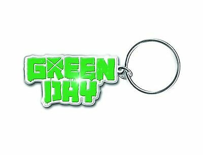 Green Day Keyring Keychain Band Logo american idiot new Official metal One Size