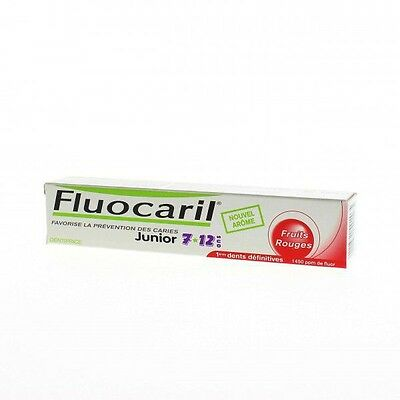 Fluocaril Junior Fruits Rouges Gel 7-12 ans 50ml