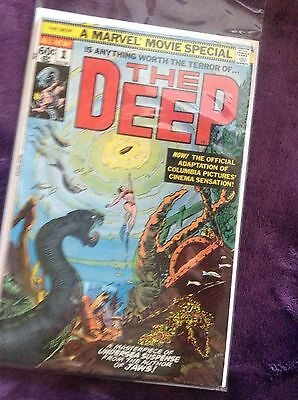 The Deep #1  ungraded comic book, Marvel Movie Special #02236, 1977 edition.