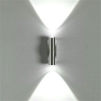 2W Day White LED Wall Light Up Down Lamp Sconce Mirror Spot lights CP