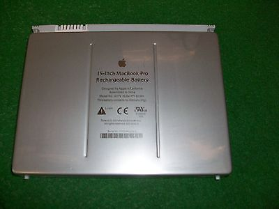 """Genuine Apple Macbook Pro 15"""" A1175 Battery 10.8v 60Wh Guaranteed"""