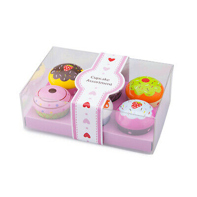 New Classic Toys - Cupcake Gift Box Educational Wooden Toy