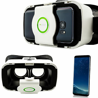 3D VR Brille Virtual Reality für Samsung Galaxy S8 + S5 S6 S7 Edge A3 A5 A7 2017