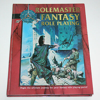 Rolemaster | Fantasy Role Playing Core Rules Hard Back Book |  I.C.E. #5800