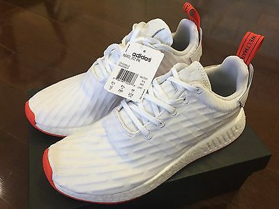 Adidas Nmd_R2 Primeknit Core Red/white