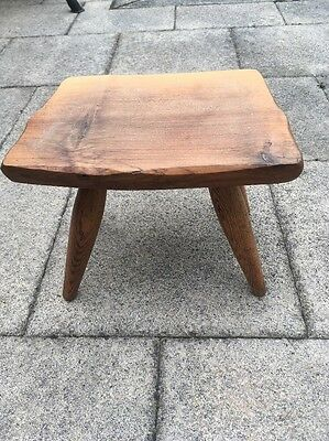 Vintage Hand Made Wooden milking stool
