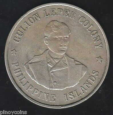 1925 USA Philippine Peso, Culion Leper Colony - NGC XF 45 - Free Ship NO Reserve