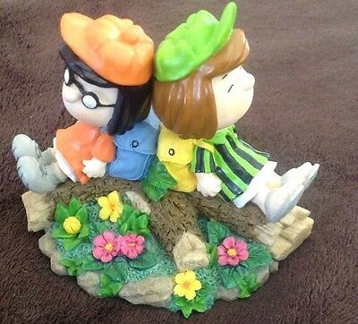 PEANUTS Westland Giftware Marcie And Peppermint Patty # 8212 Free Shipping!