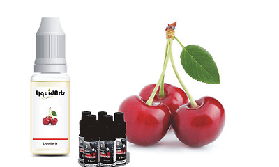 Kirsche 50ml MixnVape Set E-Liquid eliquid base basis & aroma set Liquidarts