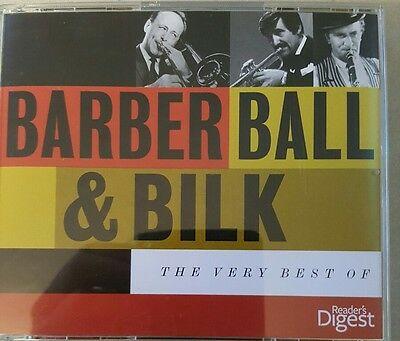 BARBER BALL AND BILK THE VERY BEST OF 3 C.D BOX SET FROM Reader's Digest.
