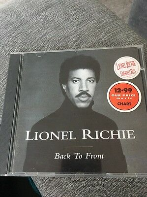 Lionel Richie ( New Sealed Cd ) Back To Front / 16 Greatest Hits / Very Best Of
