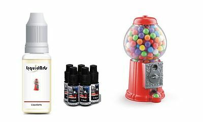 Bubble Gum Kaugummi 50ml MixnVape Set E-Liquid eliquid base basis & aroma set