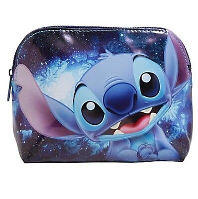 Disney Lilo & Stitch Galaxy Cosmetic Make-Up Tote Bag Purse Gift New With Tags!