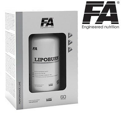 FA Fitness Authority LIPO BURN 60 tablets Strong Fat Burner - Free Shipping !