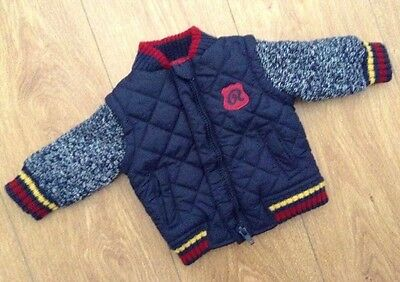 Baby Boys Quilted Jacket from Early Days - 0-3 Months