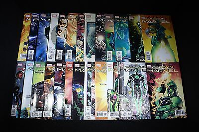 CAPTAIN MARVEL: Vol. 6 #1-25, (2002) Marvel Comics; Complete Set