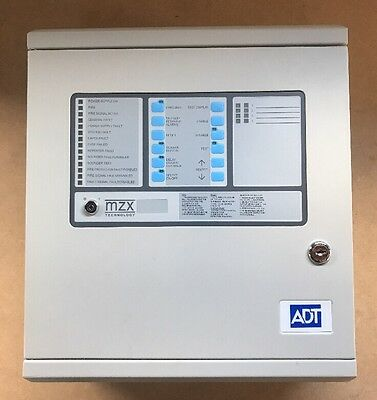 TYCO ADT Precept Fire Alarm Control Panel Conventional 4 Zone NEW