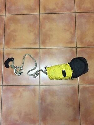 Firefighter Self Rescue Bail Out Bag And Rope