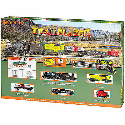 Bachmann Trains Trailblazer, N Scale Ready-to-Run Electric Train Set